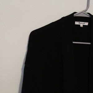 madewell / cardigan / black